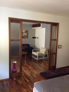 TV/Unterhaltungsangebot in der Unterkunft Stilvolle Wohnung im Herzen Salzburgs