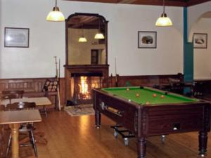 A pool table at The Nursery