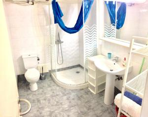 Ein Badezimmer in der Unterkunft Villa Sud Nice