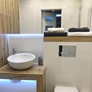 A bathroom at Pure Apartment