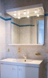 Salle de bains dans l'établissement Top Apartment Ostend