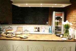 Kuchnia lub aneks kuchenny w obiekcie Biała 16