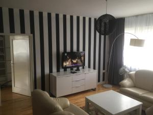 A television and/or entertainment center at Apartman Sarajevo