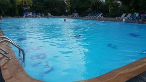 The swimming pool at or near Patong Tower 01