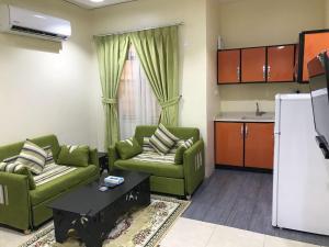 A seating area at 6 Al Amoria Apartments