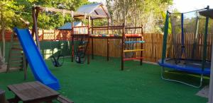 Children's play area at Island Cottage