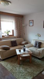 אזור ישיבה ב-Haus Raimund