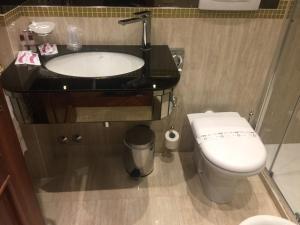 Salle de bains dans l'établissement Cà dell'arte Suite