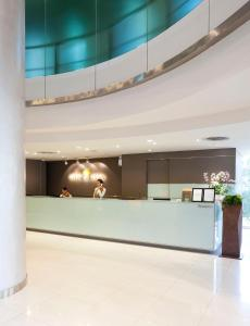 The lobby or reception area at Viva Garden Serviced Residence