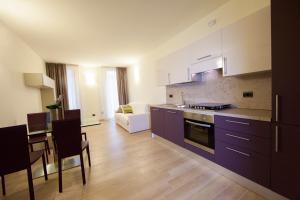 Köök või kööginurk majutusasutuses Residenza Agnello D'Oro
