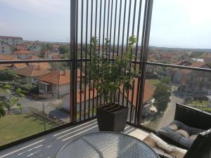 Balkon ili terasa u objektu Apartman Karma