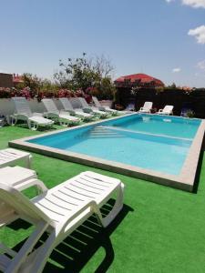 The swimming pool at or near Villa Kalina