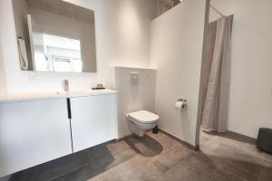 Et badeværelse på Giestgivergaarden Phønix