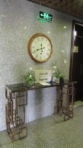 The lobby or reception area at Top Hotel Apartments