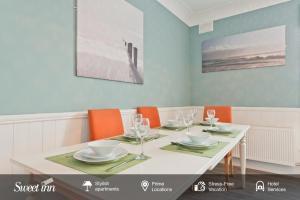 ห้องอาหารหรือที่รับประทานอาหารของ Sweet Inn - Gorgeous Howth I