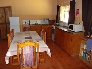 A kitchen or kitchenette at African Sunsets (Bophirimo Self-Catering Guest House)