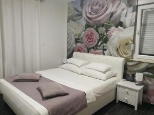 Krevet ili kreveti u jedinici u okviru objekta Apartman Karma