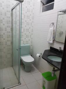 A bathroom at Casa duplex