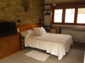 Cama o camas de una habitación en Apartamento Penaquente