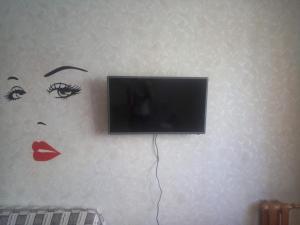 Телевизор и/или развлекательный центр в Apartment on Yulaeva 12 v