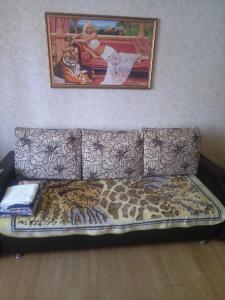 Гостиная зона в Apartment on Yulaeva 12 v
