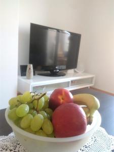 TV a/nebo společenská místnost v ubytování Apartment Iris