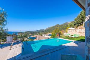 A view of the pool at Salvator Villas & Spa Hotel or nearby