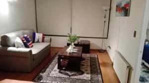Zona de estar de Decher Apartment - Santiago Centro