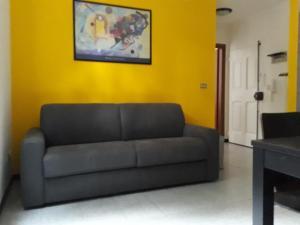 Area soggiorno di Cirenaica Apartments