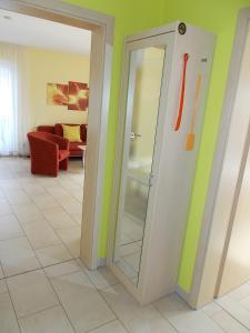 A bathroom at Ferienwohnungen Uhlemann - nur 15 Minuten bis in die Altstadt