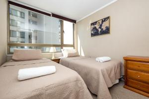 Cama o camas de una habitación en Kennedy Vintage