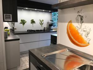 Küche/Küchenzeile in der Unterkunft Holiday Home New Largo