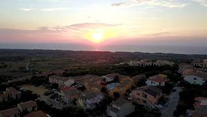 A bird's-eye view of Borgo Marino Badesi