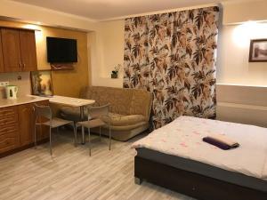Vuode tai vuoteita majoituspaikassa Rävala pst 11 Apartment