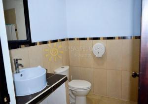 Salle de bains dans l'établissement Casas Pelicanos