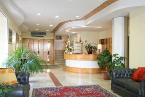 The lobby or reception area at Residence I Girasoli