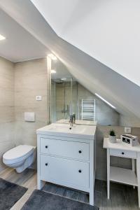 Um banheiro em Kendall Studio