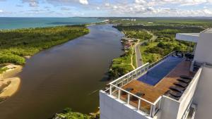 A bird's-eye view of Flat Edifico Paiva Homestay Apt 405