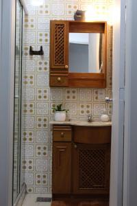 A bathroom at Apart no Menino Deus