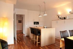 Kuhinja oz. manjša kuhinja v nastanitvi Aparthotel Waidmannsheil