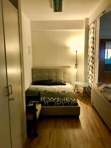Postelja oz. postelje v sobi nastanitve Luxurious studio heart of Limassol