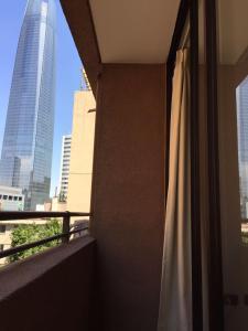 Un balcón o terraza de Apartamentos Costanera Centre