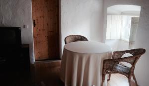 Ein Sitzbereich in der Unterkunft Casa da Vila
