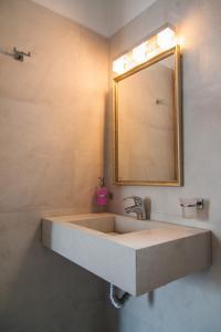 Phòng tắm tại Nostos Studios