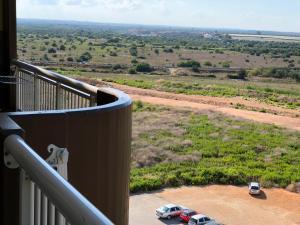 Un balcon sau o terasă la Chibia Apartment