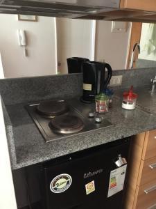 Una cocina o zona de cocina en Buena Vista Zenteno