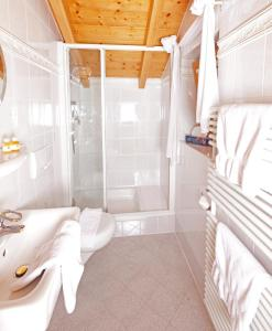 Ein Badezimmer in der Unterkunft Ferienhaus und Landhaus Berger