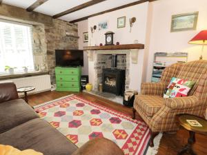 A seating area at Weardale Cottage, Bishop Auckland