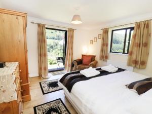Krevet ili kreveti u jedinici u objektu Bryn Coed Bach, Oswestry