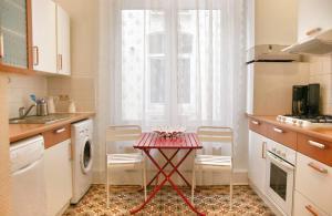Køkken eller tekøkken på ApartmentsApart